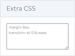 Extra CSS
