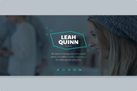 Beautiful WordPress full width slider
