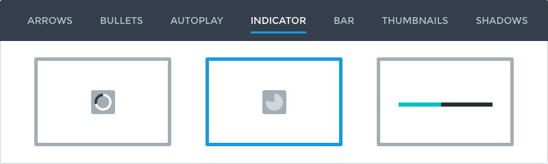 Autoplay indicator