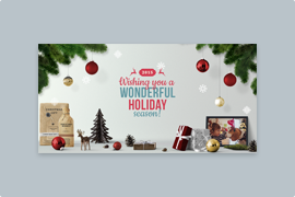 Wonderful Holiday – Animated image layers to make living sliders