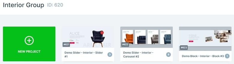 Interior Slider Group