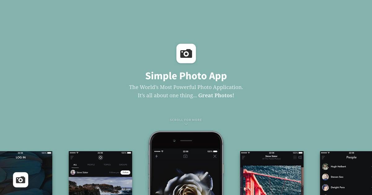 Photo App Slider