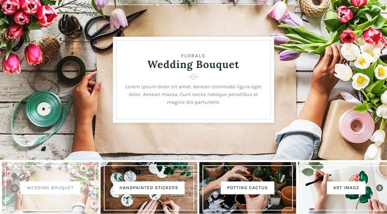 Text background example