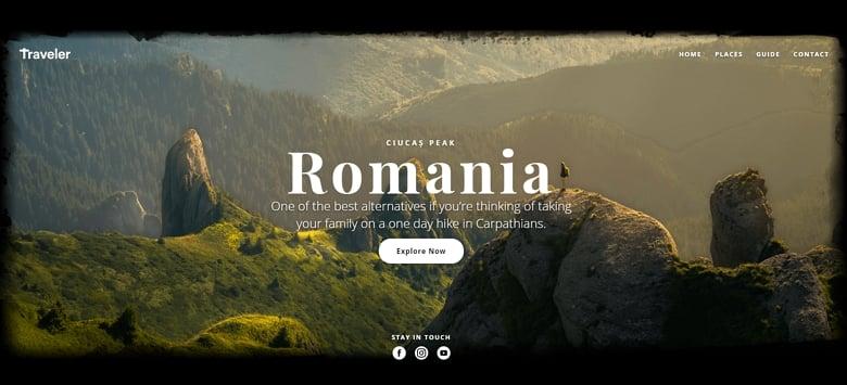 Traveler WordPress Hero image