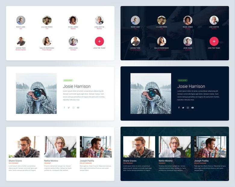 team slide examples