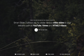 Video Slider: Add video slides to your WordPress website – Smart Slider 3
