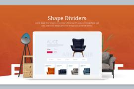 Shape Divider Slider