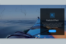 Particle Slider – Video Particle