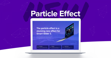 Long-awaited Feature in Smart Slider 3: Particle Effect