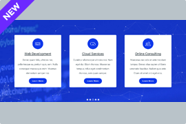 Particle Slider – Particle Carousel