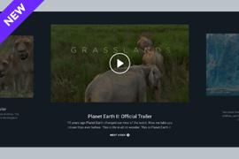 Video slider – Video Showcase