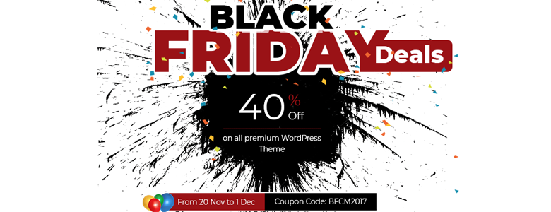 AccessPress Themes Black Friday Deal 2017