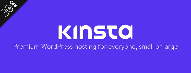 Kinsta Black Friday Deal 2017