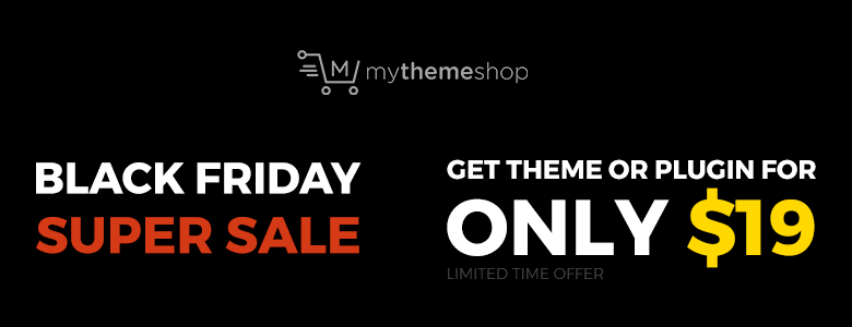 Mythemeshop Black Friday Deal 2017