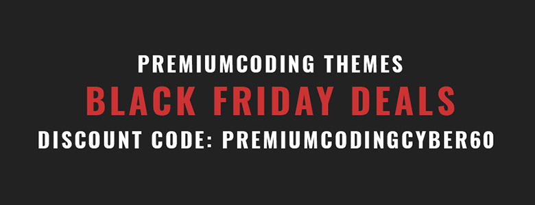 Premiumcoding Black Friday Deal 2017
