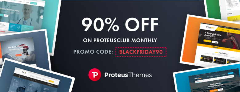ProteusThemes Black Friday Deal 2017