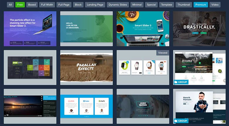 Smart slider 3 and beaver builder 2 blog for Free blogger templates with slider