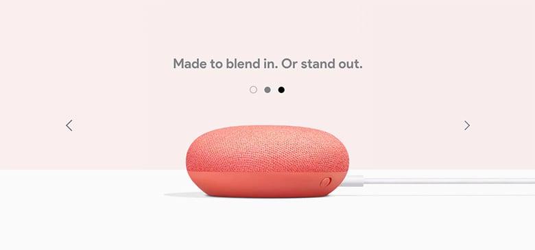 Image slider - Google Home