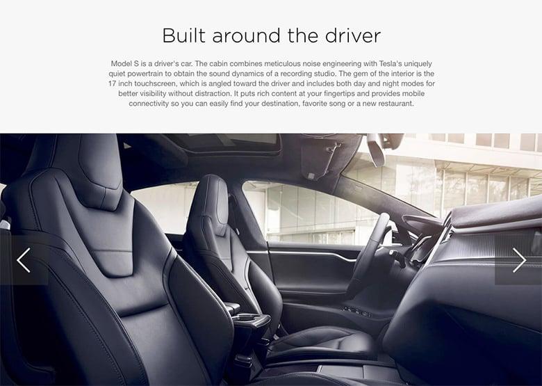 Image slider -Tesla