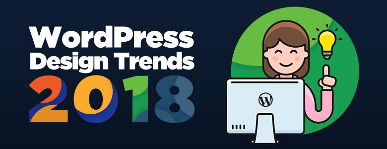 WordPress design trends 2018