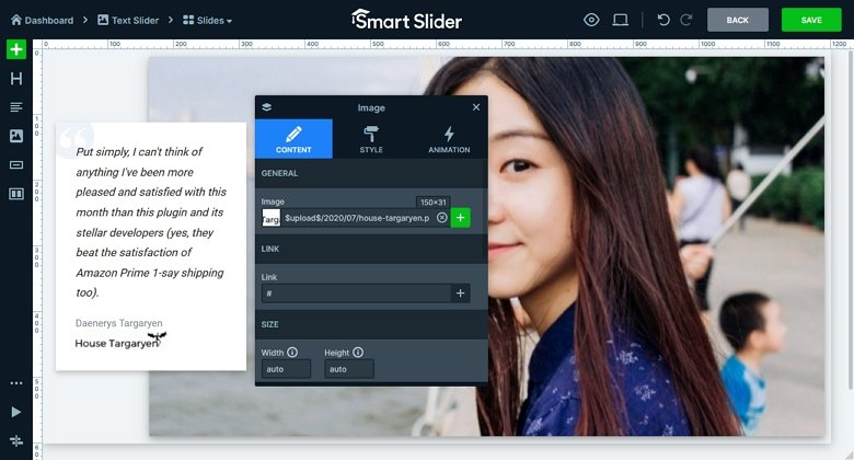 Smart Slider - Add Image