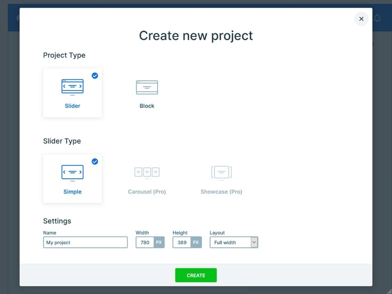 Create Gallery Slider with Smart Slider 3