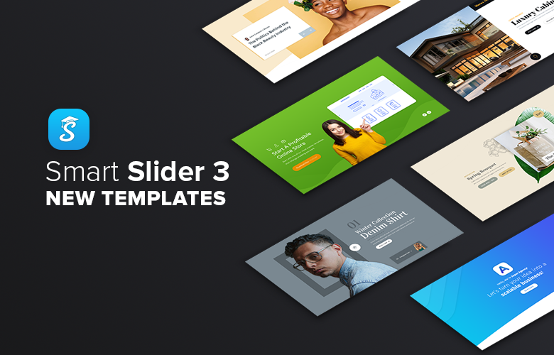 New Slider Templates