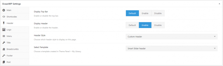 How to Add a Slider in OceanWP Theme — Smart Slider 3 Blog