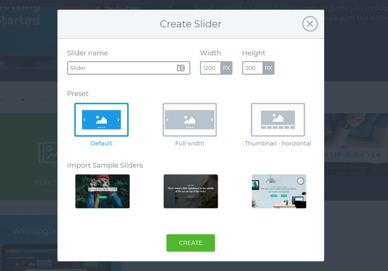 WordPress Gallery Slider Create SS3