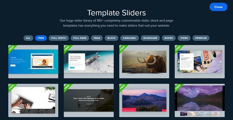 Smart Slider 3 Templates