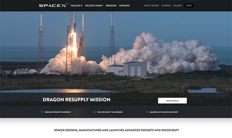 Slider at SpaceX