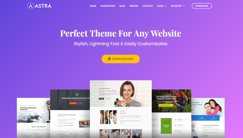 Astra Theme for WordPress