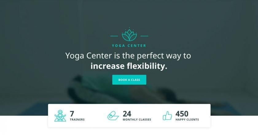 yoga hero block