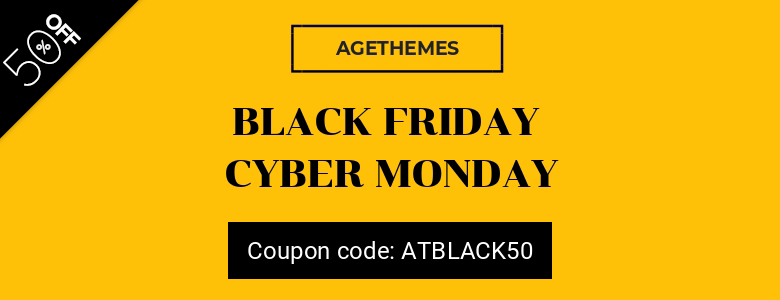 agetheme joomla black friday deal