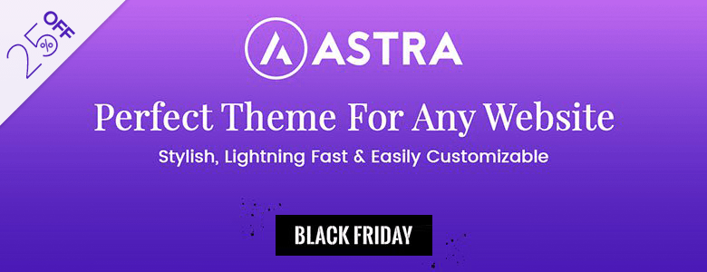 Astra WordPress Black Friday Deal