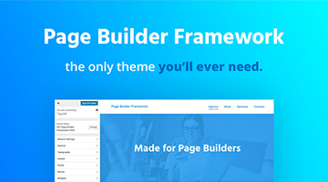 Page Builder Framework WordPress Black Friday Deal