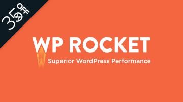 WP Rocket WordPress Black Friday Deal