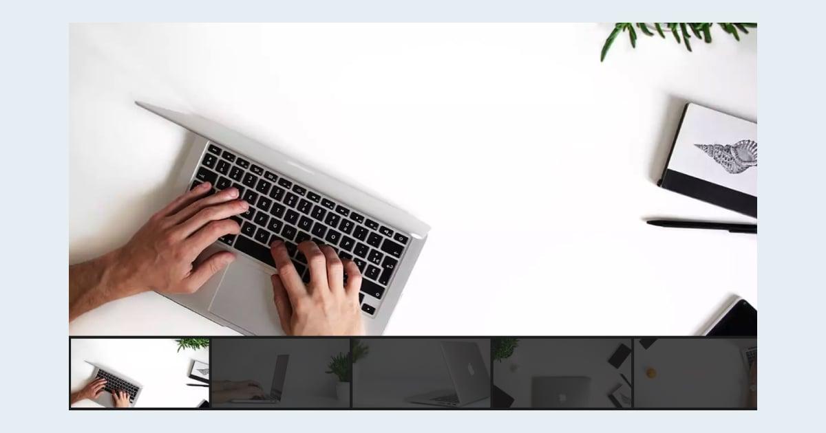 Autoplaying Thumbnail Slider