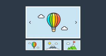 Create A Responsive Thumbnail Slider