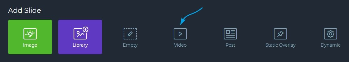 Create a Video slider