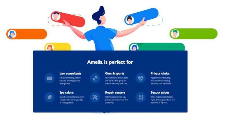 Amelia Premium WordPress Plugin