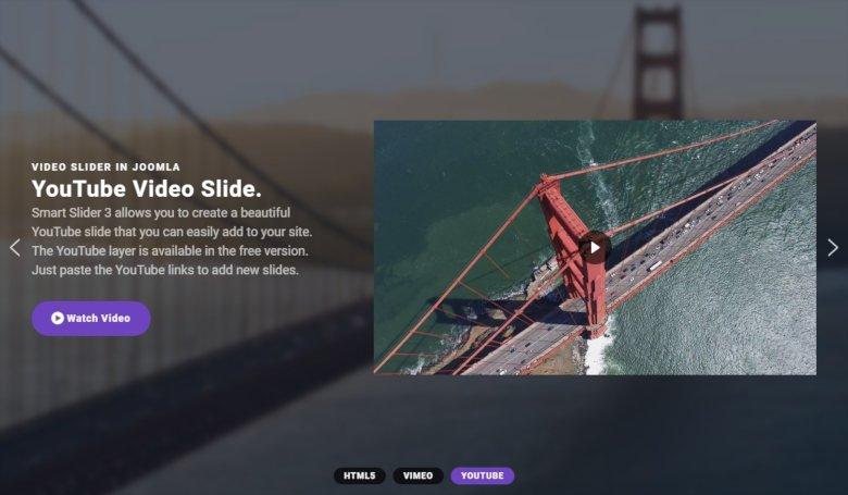 Fullwidth Video Slider