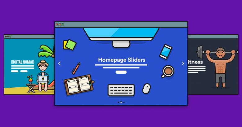 homepage slider examples