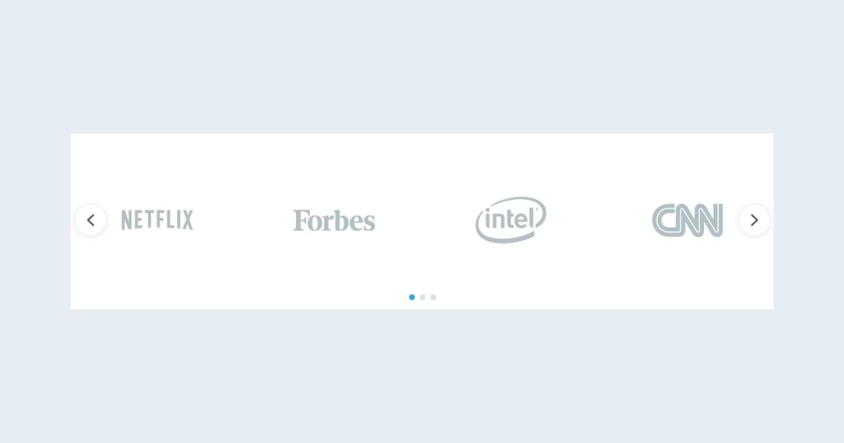 Minimal Logo Slider