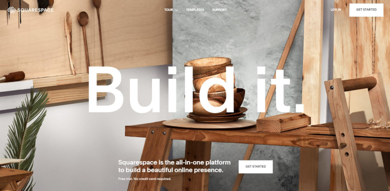 Squarespace Full Page Slider