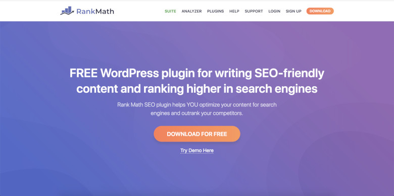 Use the Rank Math WordPress Plugin