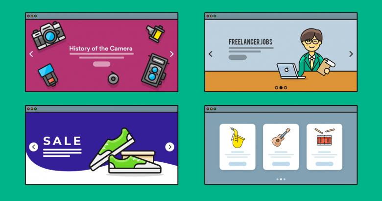 12 Inspiring Slider Examples for Your Next Website — Smart