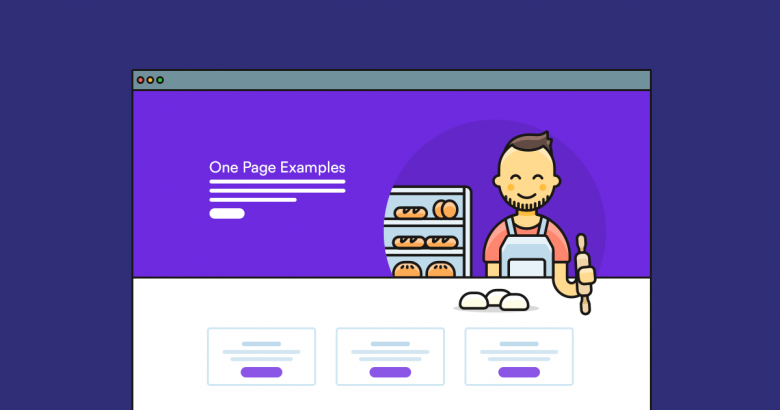 one page examples