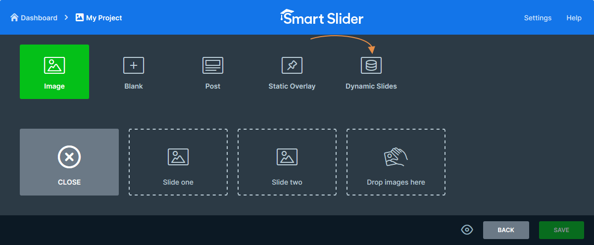 Create Dynamic Slide