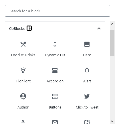 A few blocks CoBlocks will enhance your website